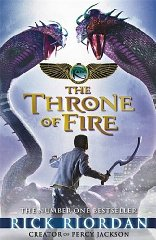 Image for The Kane Chronicles: The Throne of Fire (Signed)