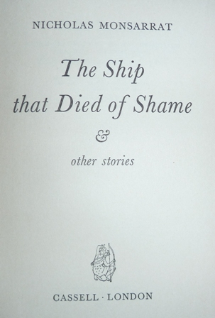 Image for The Ship That Died of Shame