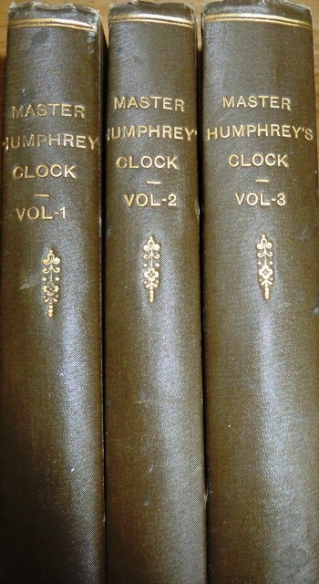 Image for Master Humphrey's Clock: Master Humphrey's Clock, The Old Curiosity Shop and Barnaby Rudge (Three volume set)