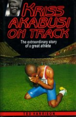 Image for Kriss Akabusi on Track. The extraordinary story of a great athlete