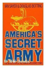 Image for America's Secret Army: Untold Story of the Counterintelligence Corps