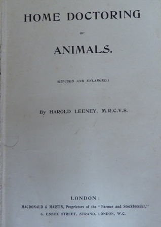 Image for Home Doctoring of Animals