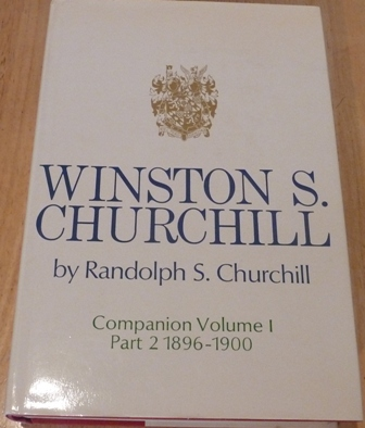 Image for Winston S. Churchill, Companion Volume I, Part 2, 1896-1900