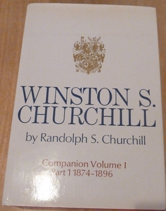 Image for Winston S. Churchill, Companion Volume I,Part 1, 1874-1896