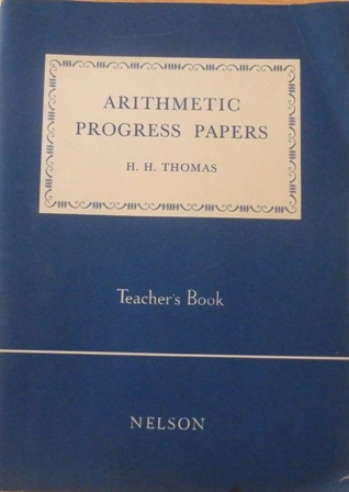 Image for Arithmetic Progress Papers (Teacher's Book)
