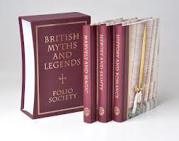 Image for British Myths and Legends (Folio Society Three-Volume Set)