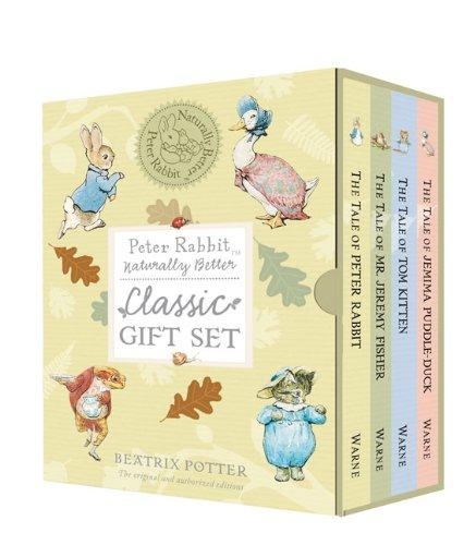 Image for Peter Rabbit Naturally Better Classic Gift Set (4 Books)