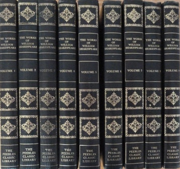 Image for The Works of William Shakespeare in 9 volumes