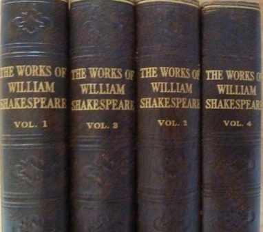 Image for The Complete Works of William Shakespeare in 4 volumes