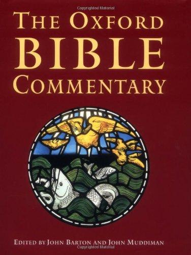 Image for The Oxford Bible Commentary