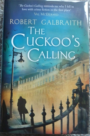 "Image for The Cuckoo's Calling (Cormoran Strike) - (Signed First UK edition-First printing – Signed by J.K. Rowling As ""Robert Galbraith"")"