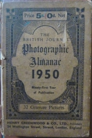 Image for The British Journal Photographic Almanac 1950