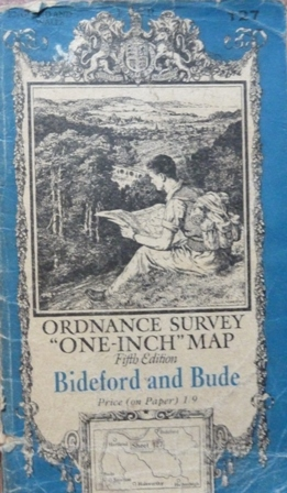 Image for Ordnance Survey one-inch map sheet 127: Bideford and Bude