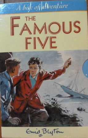 Image for Famous Five Slipcase (1-5): Five on a Treasure Island, Five Go Adventuring Again, Five Run Away Together, Five Go to Smuggler's Top, Five Go Off in a Caravan
