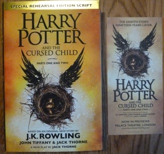 Image for Harry Potter and the Cursed Child - Parts I & II (Special Rehearsal Edition): The Official Script Book of the Original West End Production including THEATRE FLYER (Harry Potter Bookmark will be included)