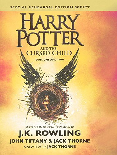 Image for Harry Potter and the Cursed Child: The Official Script Book of the Original West End Production Special Rehearsal Edition (Harry Potter) (Library Binding)