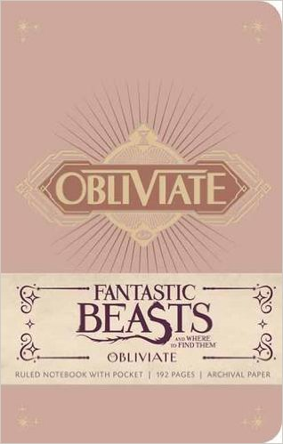 Image for Fantastic Beasts and Where to Find Them: Obliviate Hardcover Ruled Notebook (Insights Journals)