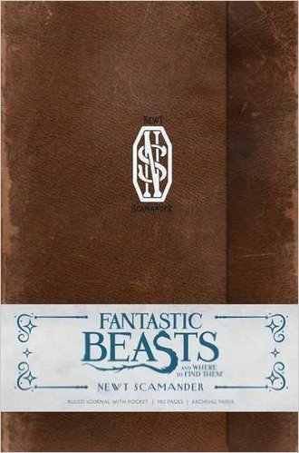 Image for Fantastic Beasts and Where to Find Them: Newt Scamander Hardcover Ruled Journal (Insights Journals)