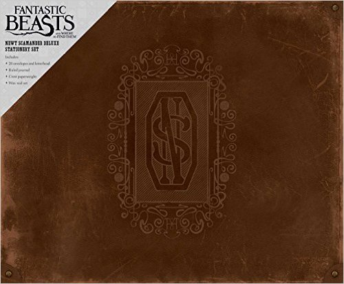 Image for Fantastic Beasts and Where to Find Them: Newt Scamander Deluxe Stationery Set (Insights Deluxe Stationery Sets)