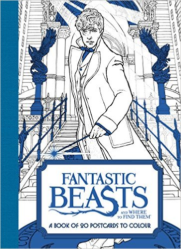 Image for Fantastic Beasts: and Where to Find Them A Book of 20 Postcards to Colour