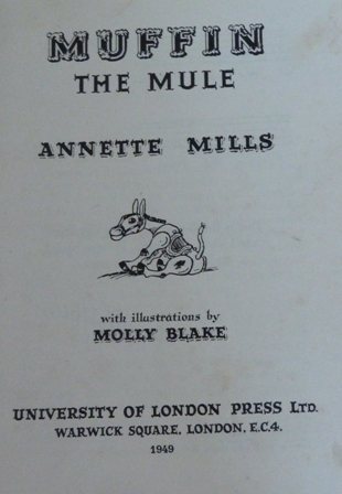 Image for Muffin The Mule