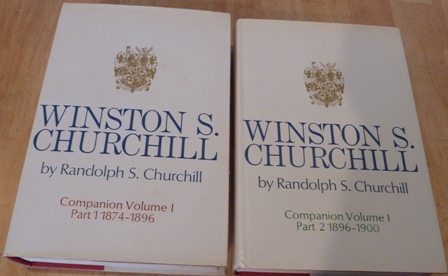 Image for Winston S. Churchill, Companion Volume I, Part 1(1874-1896) & Part 2(1896-1900)
