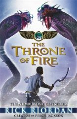 Image for The Kane Chronicles: The Throne of Fire